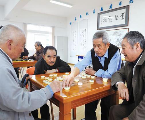 汉口养老院活动